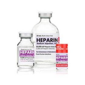 Heparin Sodium 10, 000 Units / mL Single-Dose Vial, 25 x 1 mL