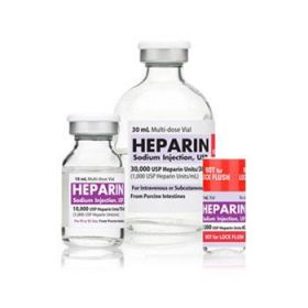 Heparin Sodium 5, 000 Units / mL Single-Dose Vial, 25 x 1 mL