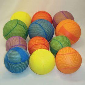 "Mesh Covered Foam Balls - 4"""