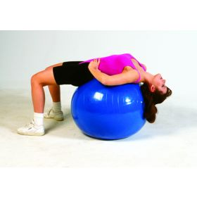 Inflatable PT Ball- 48in 120 Cm- Orange