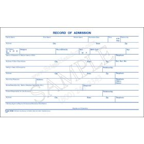 Record Of Admission Card
