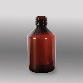 Amber Plastic Bottles Only, 200mL
