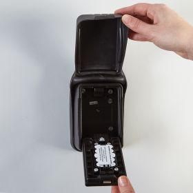 Locking Key and Card Storage Box