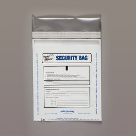 Standard Security Bags, White, 8 x 10