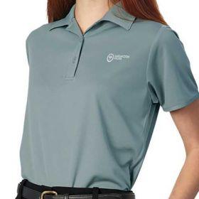 Polo Shirt X-Large Pewter Short Sleeves Female