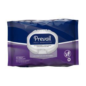 FIRST QUALITY PREVAIL WASHCLOTHS PREMIUM SOFT PACK WITH PRESS N PULL LID