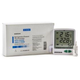 Datalogging Refrigerator/Freezer Thermometer McKesson Fahrenheit/Celsius EA/1