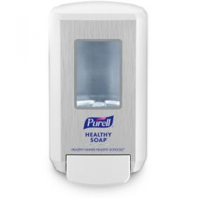 Soap Dispenser Purell CS4 White ABS Plastic Manual Push 1250 mL Wall Mount
