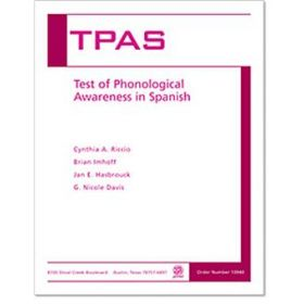 Test of Phonological Awareness in Spanish (TPAS)