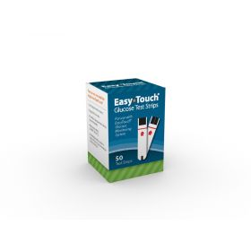 MHC Easy Touch Glucose Test Strips Qty 50