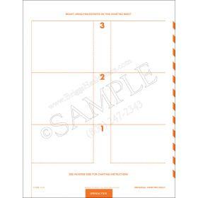 Universal Charting Sheet 1118
