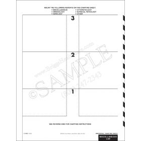 Universal Charting Sheet 1120