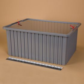 Divider Box with Security Seal Holes 1129  - Blue