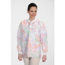 Lab Jacket ValuMax Extra-Safe Multicolor Medium Hip Length Limited Reuse