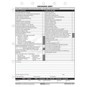Discharge Audit