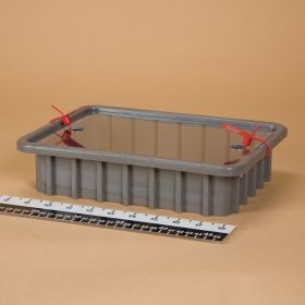 Divider Box with Security Seal Holes - Red
