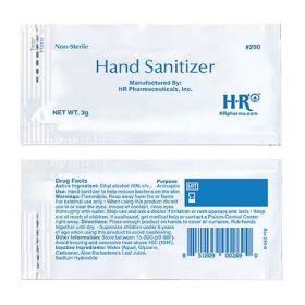 Hand Sanitizer HR 3 Gram Ethyl Alcohol Gel Individual Packet