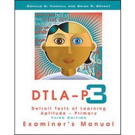 DETROIT TESTS OF APT LEARN PRIMARY-DTLA-P:3-KIT