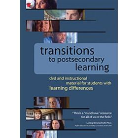 Transitions to Postsecondary Learning   DVD with Discussion Guide