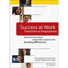Success at Work: Transitions to Employment   DVD with Discussion Guide
