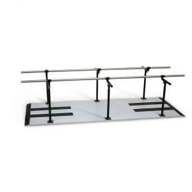 Hausmann 1387 Bariatric Parallel Bars-Height and Width Adjustable