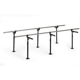 Hausmann 1389 Floor Mounted Bariatric Parallel Bars