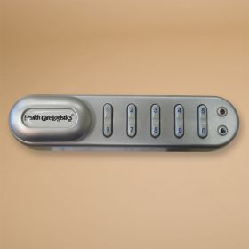Keyless Entry Digital Lock, Horizontal Right, 1-1/8 in. Spindle