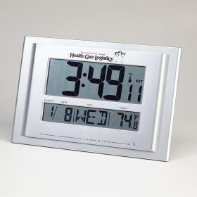 Digital Radio Atomic Wall Clock