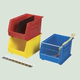 Stack-Tote Bin, 11x10x18 - Yellow