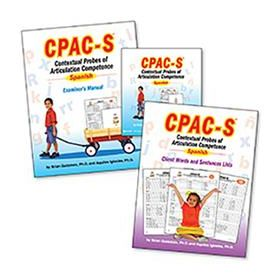 Contextual Probes of Articulation Competence   Spanish (CPAC-S) Test Only Kit