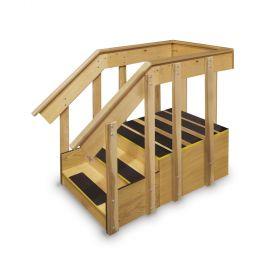 Hausmann 1582 ADA Straight Staircase