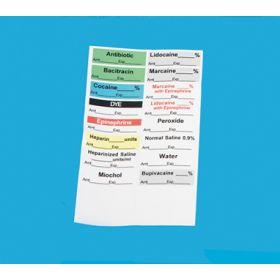 Sterile Preprinted Labels 16070