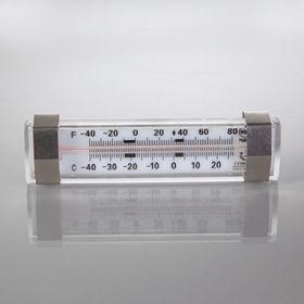 Horizontal Refrigerator/Freezer Thermometer