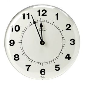 "Taylor 166 12"" Large Dial Patio Clock"