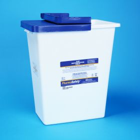 PharmaSafety Waste Disposal Container, 8-gallon