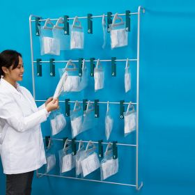 Wall Rack for Prescription Bags