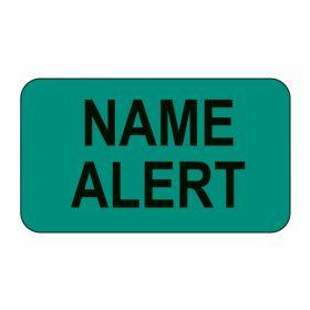 Name Alert Labels