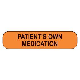Patient's Own Medication Labels