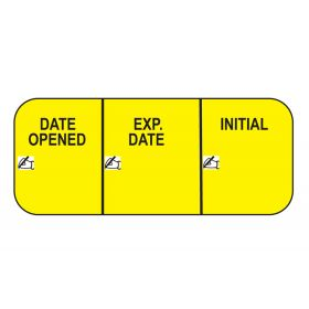 Date Opened Labels