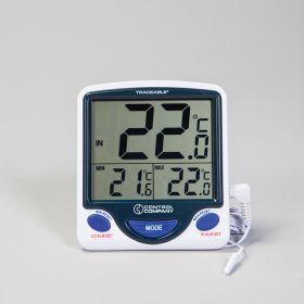 Jumbo Display Memory Monitoring Air Temperature Thermometer