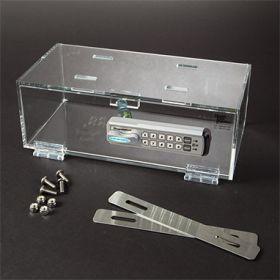 Hinged-Door Locking Refrigerator Box Small  Keyless Entry Digital Lock