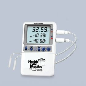 Hi-Accuracy Refrigerator Thermometer w/ 2 probes