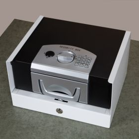 Electronic Security Box with Countertop Bracket