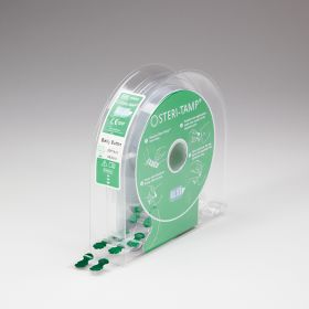 Steri-Tamp Belly Button Bag Port Seals, Green