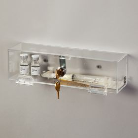 Locking Wall Box with Key Lock, Large