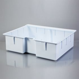 Deep Crash Cart Box with Clear Slide-In Lid for Metro Lifeline Crash Cart