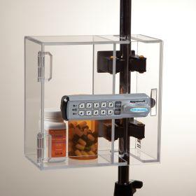 Lock-to-Pole Locking Box, Keyless Entry Digital Lock