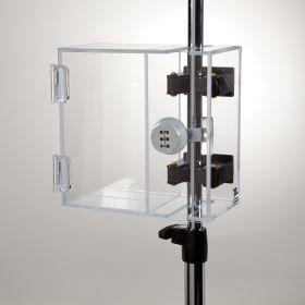 Lock-to-Pole Locking Box, Dial Combination Lock