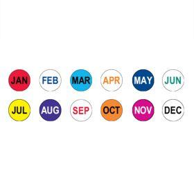 12 Month Circle Label Kit