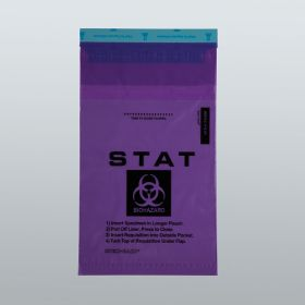 Biohazard STAT Bags, 6 x 10